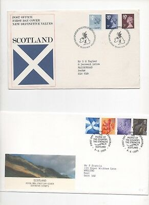 GB Decimal FDC Job Lot x12 Scotland