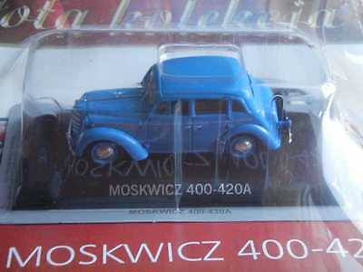 Moskwicz 400-420A Golden Collection Cars Of Prl's Deagostini Model 1/43 Iss. 31