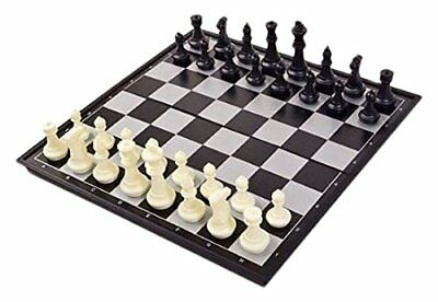 LARGE Magnetic folding chess board portable set with pieces games sport camping