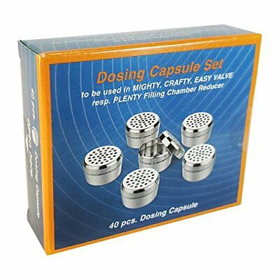 Dosing Capule Set 40 pack for Volcano Crafty Mighty Plenty by Storz  Bickel