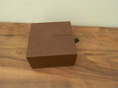 louis Vuitton empty box and dust bag