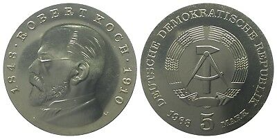 5 Mark Ddr 1968 Koch
