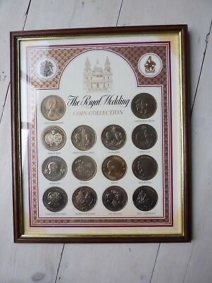 The Royal Wedding Coin Collection 29th July 1981 (uncirculated 'crown' coins)