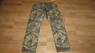 Men Wrangler Progear Insulated Lined Camouflage Pants 38 X 32 !!!