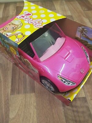 Barbie Convertible Car Vehicle - Pink