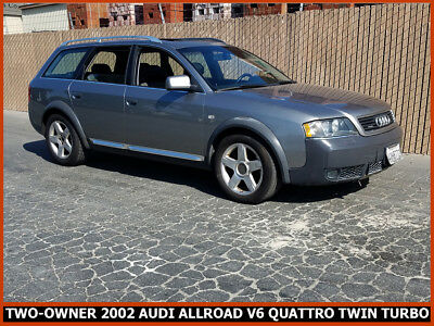 2002 Audi Allroad allroad quattri Nice 2002 Audi Allroad Quattro 2.7L V6 Twin Turbo Wagon! 2-Owner California Car!