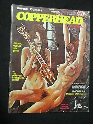 Copperhead # 2 Underground Occult Horror Bondage 1972