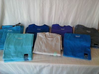 Wholesale Lot of 98 Mens Basic Editions Plain Pocket T-Shirts Tees Brand New