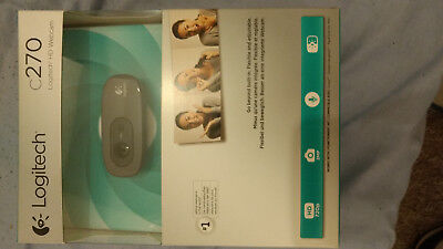 Logitech C270 3.0MP Webcam (960-000582)