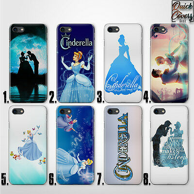 Cinderella Prince Thin Uv Hard Plastic Case Cover For Iphone