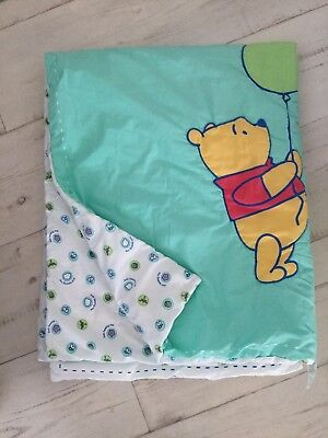 """Mothercare Baby Padded Quilt 4.tog 46"""" X 58"""" Polyester/cotton Disney Theme"""