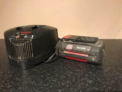 Bosch 36v Battery And Charger, 2.6amp Battery