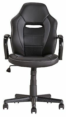 Brilliant Argos Home Mid Back Office Gaming Chair Black Used Andrewgaddart Wooden Chair Designs For Living Room Andrewgaddartcom