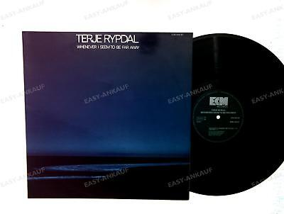 Terje Rypdal - Whenever I Seem To Be Far Away GER LP 1974 ECM Jazz //6