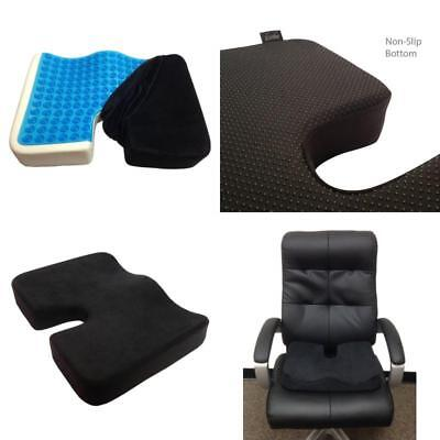 Large Truck Driver Seat Cushion Memory Foam Tailbone Support Pain Relief Pillow
