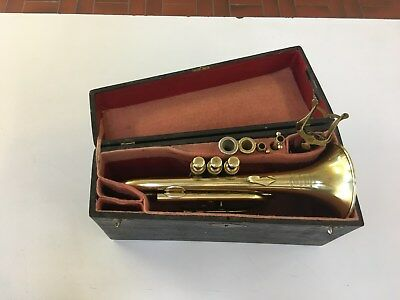 Rare Early French Besson Cornet, 1890-1900 All Original, Restored, Gorgeous!