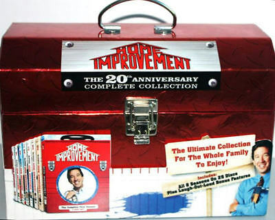 Home Improvement:Complete Series Collection Box Set Season 1-8(DVD)!DONT MISS!