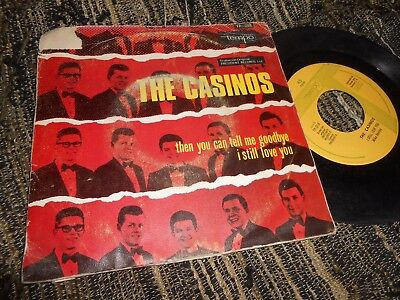 """The Casinos The You Can Tell Me Goodbye/i Still Love You 7"""" 197? Promo Spain"""
