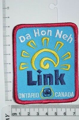 Canadian Girl Guides Da Hon Neh Link Ontario Crest Badge Patch Scouts GGC