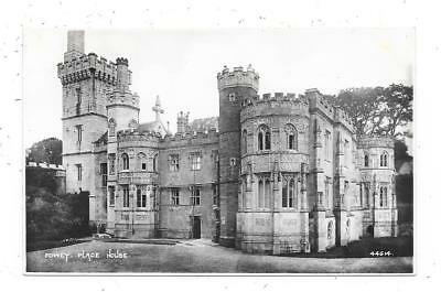 Superb Real Photographic Postcard Of Place House Fowey Cornwall
