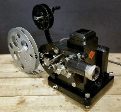 Agfa Movector CD 16C U551 16mm Vintage Cine Film Projector 1930s Movie & Case