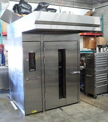 Hobart OV210G-M2B Double Rack Oven Rotating Oven Gas, Bakery Oven Bread Oven