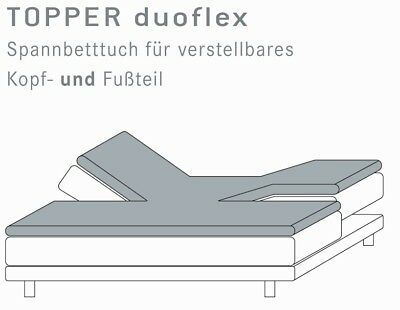 Split Topper Fitted Sheet Kneer Q22 Incision Am Head & Footboard