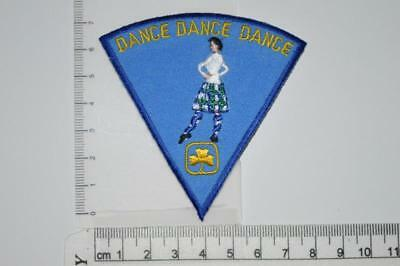 Canadian Girl Guides Dance Dance Dance Crest Badge Patch Scouts GGC Discontinued