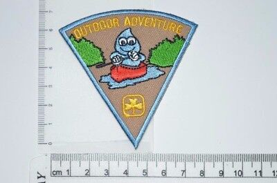 Canadian Girl Guides Outdoor Adventure Crest Badge Patch Scouts GGC Discontinued