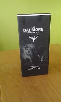 Dalmore King Alexander III - Original Packing Box and Bottle (EMPTY)