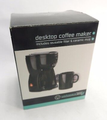 Desktop Personal Filter Coffee Maker With Cup