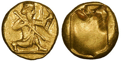 Achaemenid Kings Time of Darios I-Xerxes II AV Daric 485-420 B.C. EF
