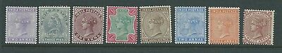 India Fresh Looking Lot Victoria Mh See Both Scans For Condition