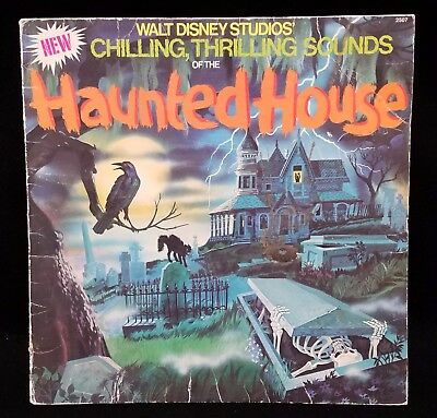 """LP Disney Studios """"NEW CHILLING THRILLING SOUNDS OF HAUNTED HOUSE"""" 2507 ERROR"""