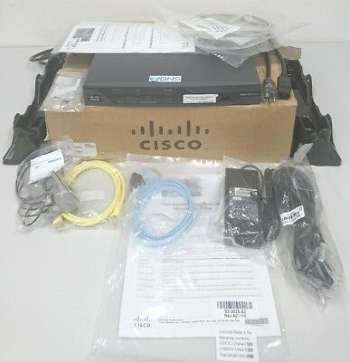 NEW Cisco 881 Ethernet Security Router with 3G 881G-K9 Firewall VPN 3DES/AES NEU