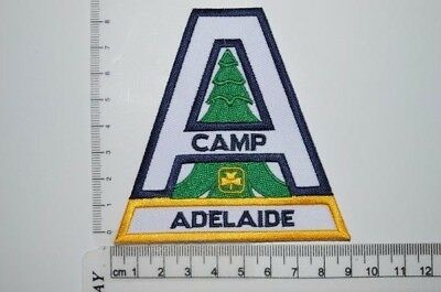 Canadian Girl Guides Camp Adelaide ON Crest Badge Patch Scouts GGC