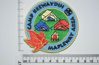 Canadian Girl Guides Camp Keewaydin ON Crest Badge Patch Scouts GGC Discontinued