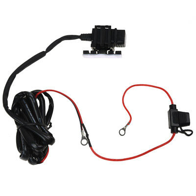 Motorcycle Bike USB Power Supply Port Socket Charger for Cell Phone 12V/24V E9N5