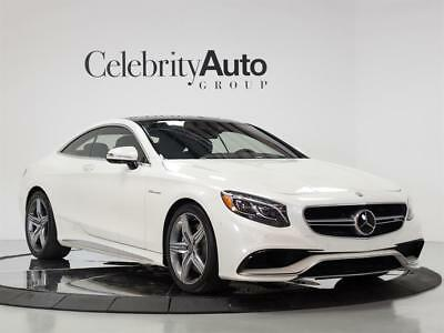 2016 Mercedes-Benz S-Class S63 AMG Coupe 2016 MERCEDES BENZ S63 COUPE $179K MSRP