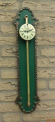 Old German rare saw clock about 1960