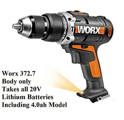 Worx Cordless 20V 2 Gear  BARE Hammer Drill Driver ONLY WX372.7   no battery