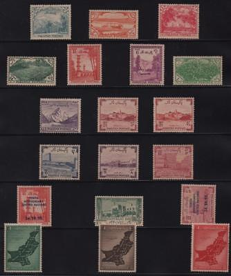 PAKISTAN: Mounted Mint Examples - Ex-Old Time Collection - Album Page (11302)