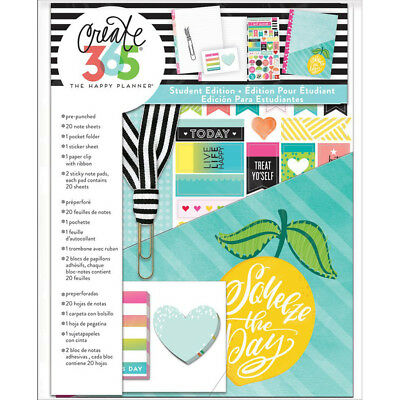 NEW Classic Happy Planner Student Accessory Pack