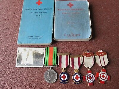 Ww2 Nurses Medals Books Ect
