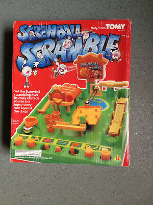 Screwball Scramble Game  Also Known As Crazy Golf 100% Complete