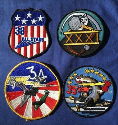 4 USAFA Squadron Patches 38th 31st 35th 34th NEW U.S. Air Force Academy