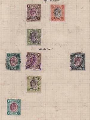 TRANSVAAL: 1902 Revenue Examples - Ex-Old Time Collection - Album Page (11585)