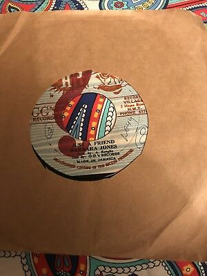 "Barbara Jones-'Just A Friend', Original Jamaican 7"",Ska/Reggae/Rocksteady"