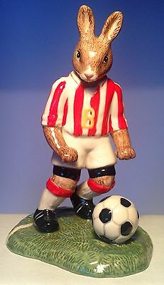 Royal Doulton He Shoots He Scores Bunnykins Model DB425 PERFECT