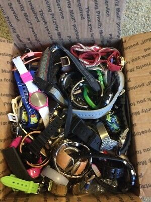 Huge Lot Of Watches - Around 10 Pounds - Great For Crafts Or Resale (J4)